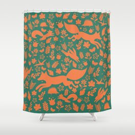 Finnish forest - Autumn colors Shower Curtain
