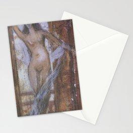 Shigeru Aoki - Mad Woman (1906) Stationery Cards
