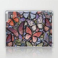 butterflies galore grunge version Laptop & iPad Skin