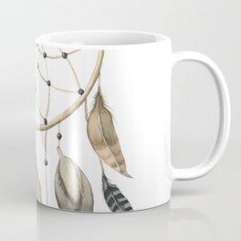 Dream Catcher Brown Coffee Mug