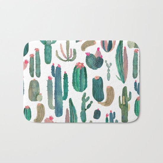 cactus, all of them Bath Mat