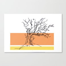 flame Canvas Print