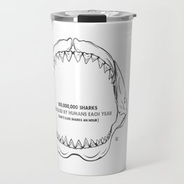 Bite Me Jaws Travel Mug