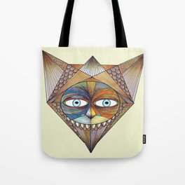 Parted and Feathered Tote Bag