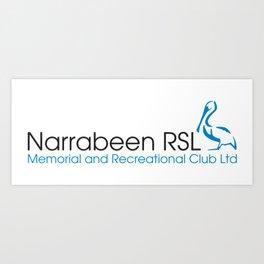 Narrabeen RSL Logo Art Print