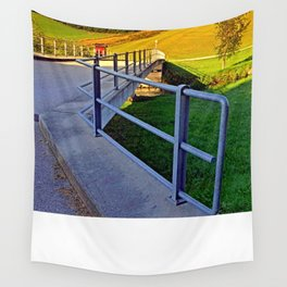 Bridge in the countryside   architectural photography Wall Tapestry