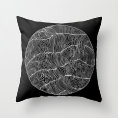 Inverted Echo Throw Pillow