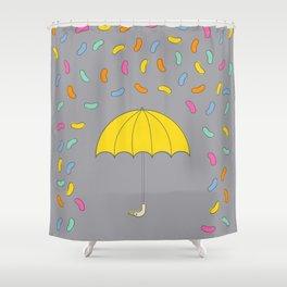 Jellybean Rain Shower Curtain