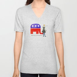 Not My Government #NotMyGovernment Unisex V-Neck