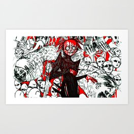 JAMS IS DEAD2 Art Print