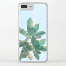 Fat Blue Clear iPhone Case