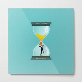 The Time Keeper Metal Print