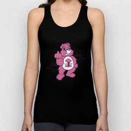 Don't Care Bear  Unisex Tank Top