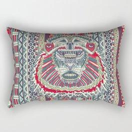 tribal lion Rectangular Pillow