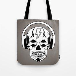 Groovy Skull Tote Bag