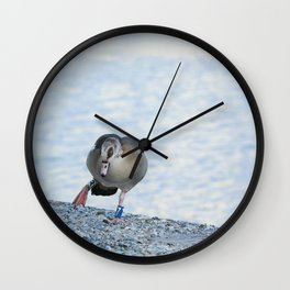 seven is my duck number Wall Clock