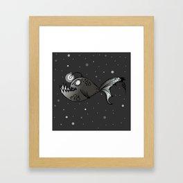 Lantern Fish Framed Art Print