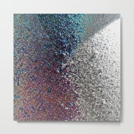 Colorful Dust in Sidelight Metal Print