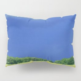 landscape with dramatic sky Pillow Sham