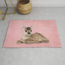 Small fawn Rug
