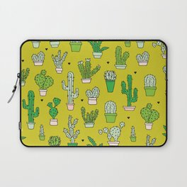 Botanical dessert cactus pattern Laptop Sleeve