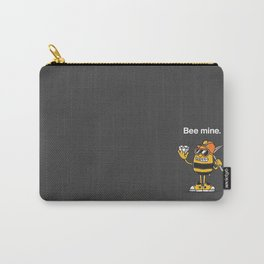 Bee Mine, Valentine Carry-All Pouch