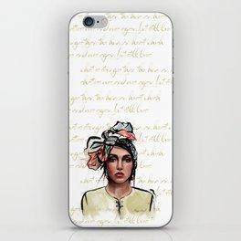 Rupi Kaur iPhone Skin