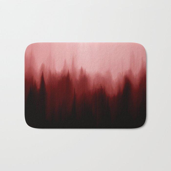 Blood Pines Bath Mat