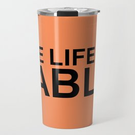 The Life of Pablo Travel Mug