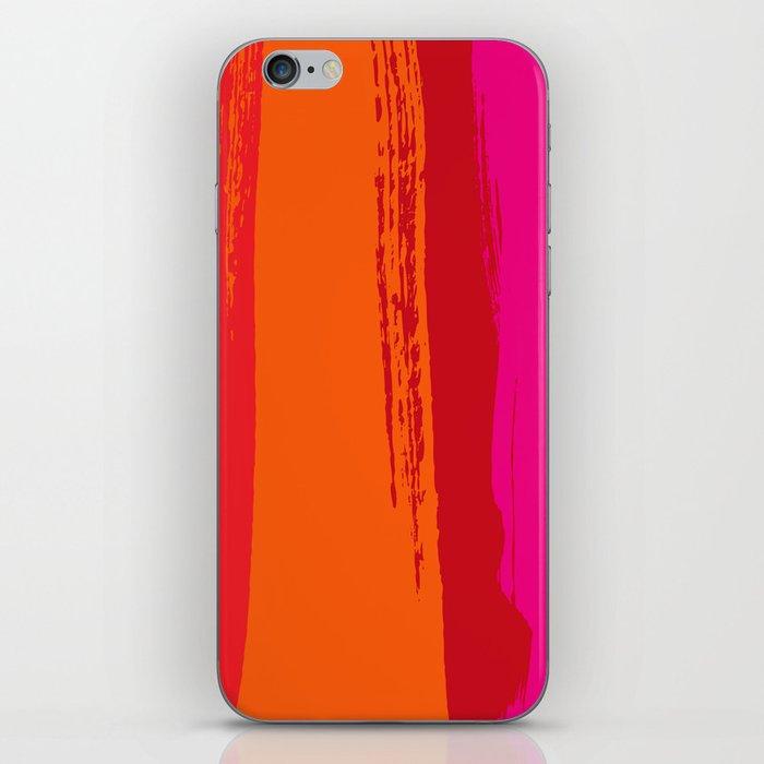 dynamic stripes iPhone Skin