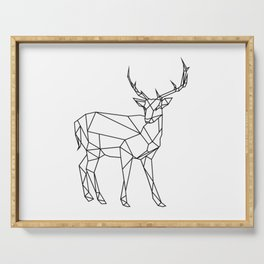 3D Buck Minimal Serving Tray