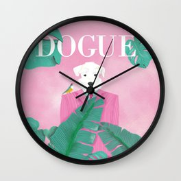 Dogue - Palms Wall Clock