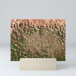 Dunes near Lake Chad Mini Art Print