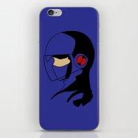 megaman iPhone & iPod Skins featuring Enforcer Megaman by DonCorgi