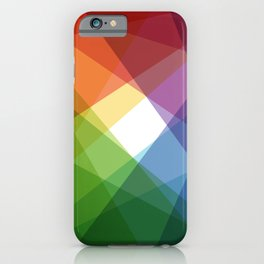 Fig. 005 Colorful Shapes iPhone Case