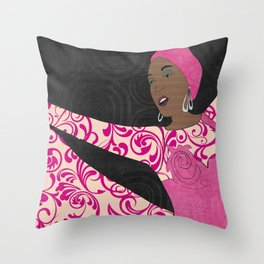 Showgirl 1 Throw Pillow