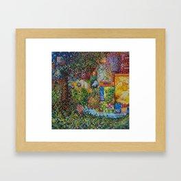 Treestacks Framed Art Print