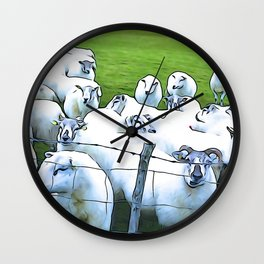 Sheepish Wall Clock