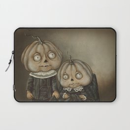 Rucus Studio Ghoul Kids Pumpkins Laptop Sleeve