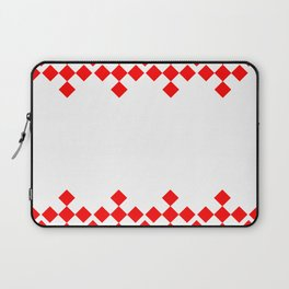 Argyle Pattern Laptop Sleeve