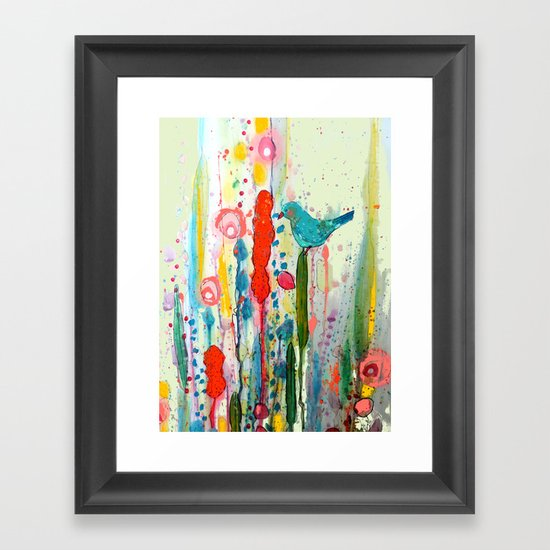 vivant Framed Art Print