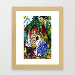 St. Patrick Elf Framed Art Print