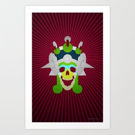 Day of the Dead- Mictecacihuatl Art Print