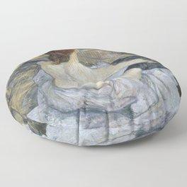 """Henri de Toulouse-Lautrec """"Rousse (La Toilette)"""" Floor Pillow"""