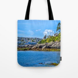 Falmouth from Flushing Beach Tote Bag