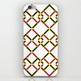 Diagonally iPhone Skin