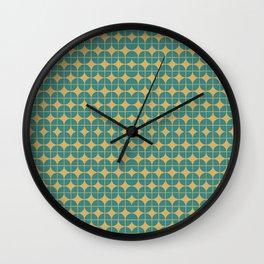 Mid Century Groove Wall Clock