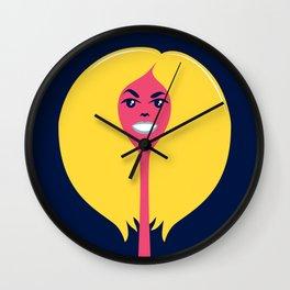 Good Hair Days: Puff Wall Clock