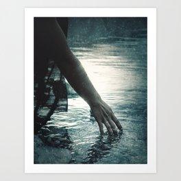 Frozen Waters Art Print