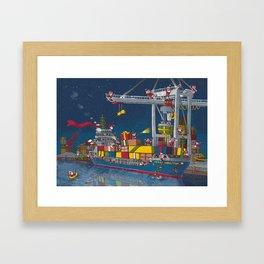 Christmas reshipped Framed Art Print